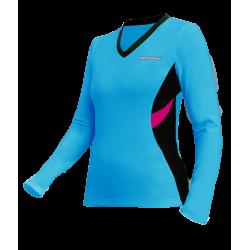 Koszulka biegowa damska Marit 654 L/S