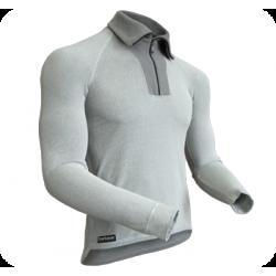 Koszulka długi rękaw z golfem Action
